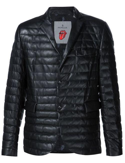 Moncler   Мужское Чёрный Riwal Jacket By X Rolling Stones