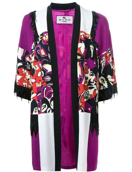 Etro | Женское Розовый Embellished Kimono