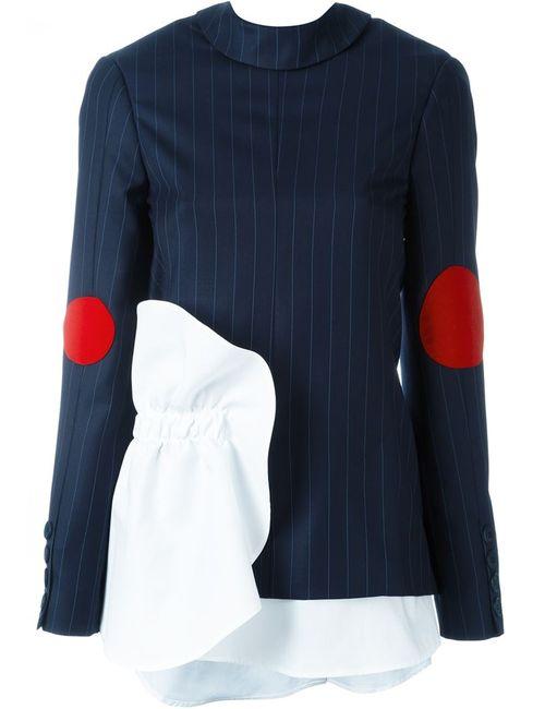 JACQUEMUS | Женская Синяя Куртка La Vest A Lenvers