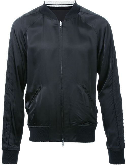 HL HEDDIE LOVU | Мужское Чёрный Teddy Sport Jacket