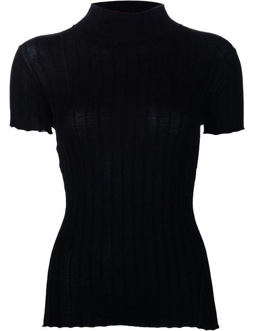 Rag & Bone | Женское Чёрный Rib Knit T-Shirt