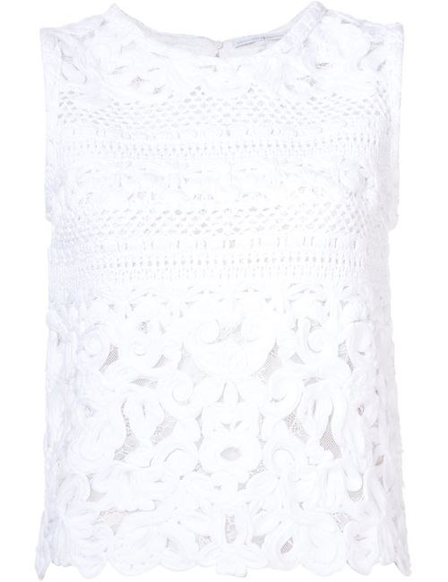 Ermanno Scervino | Женское Белый Knitted Tank Top