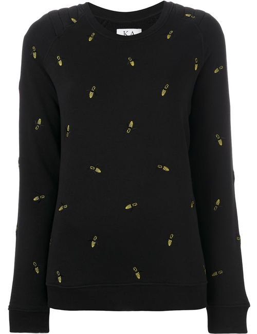 Zoe Karssen   Женское Чёрный Embroidered Bee Jumper