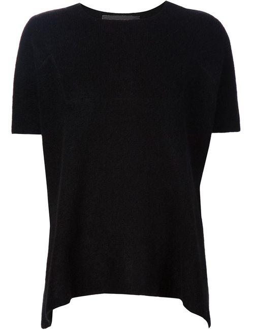 The Elder Statesman | Женское Черный Knitted T-Shirt