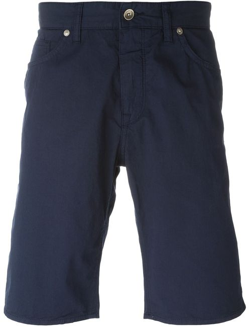 Hugo | Мужское Синий Maine Contrast Trim Deck Shorts