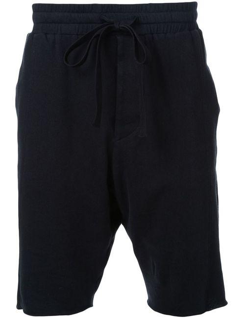 Bassike | Мужское Чёрный Drapey Terry Panelled Shorts