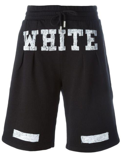 OFF-WHITE | Женское Чёрный Track Shorts