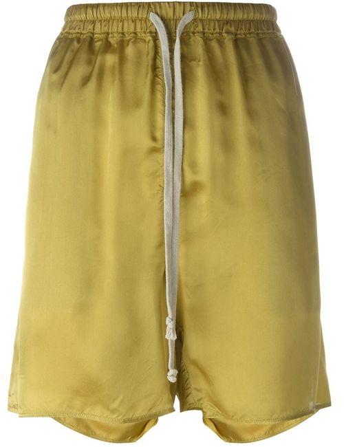 Rick Owens | Женское Желтый Loose Fit Shorts