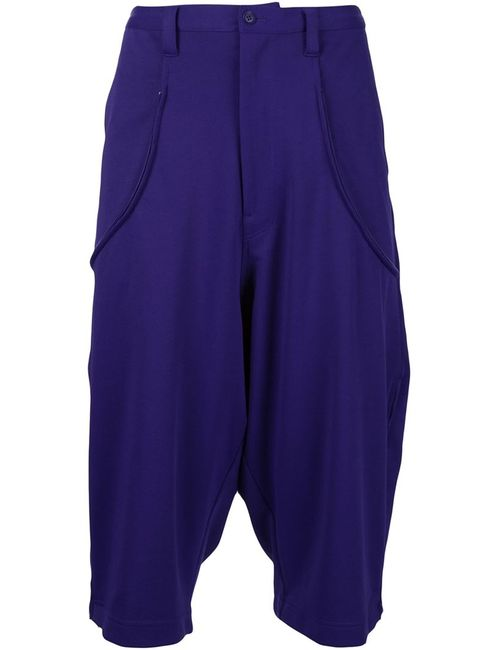 Y-3 | Мужское Розовый Drop-Crotch Shorts