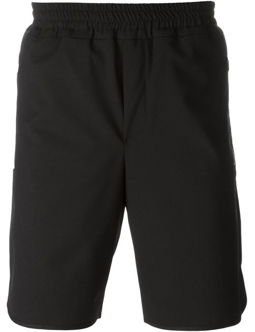 TIM COPPENS | Мужское Чёрный Zipped Pockets Bermuda Shorts