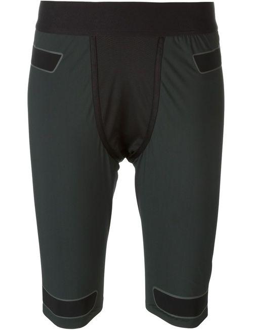 Y-3 | Женское Чёрный Contrast Panel Running Shorts
