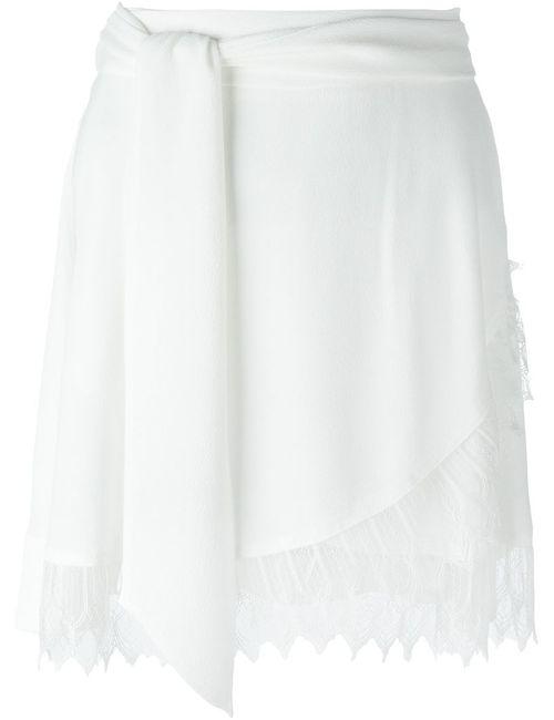 Iro | Женская Белая Юбка Мини Nicole