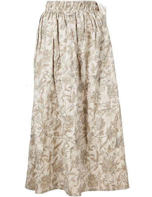 UMA WANG | Женское Nude & Neutrals Print Skirt