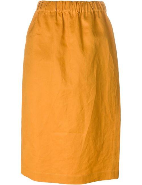 Sofie D'Hoore | Женская Жёлтая Юбка На Резинке