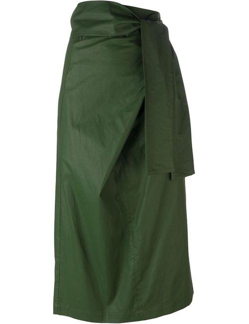 Erika Cavallini | Женское Зелёный Tie Waist Skirt