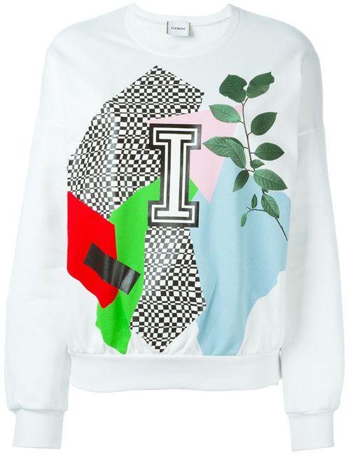 ICEBERG | Женское Белый Print Sweatshirt