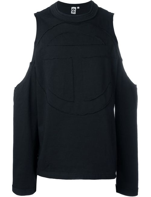 Telfar | Мужское Чёрный Cold Shoulder Sweatshirt