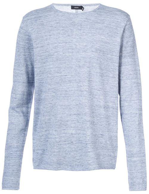 Vince | Мужское Синий Crew Neck Sweater
