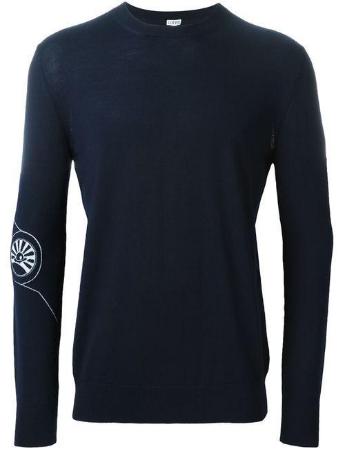 Loewe | Мужское Синий Crew Neck Sweater