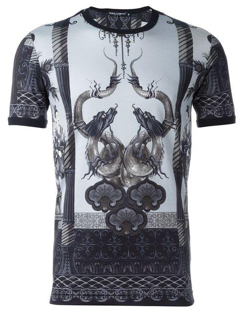 Dolce & Gabbana | Мужское Многоцветный Printed T-Shirt