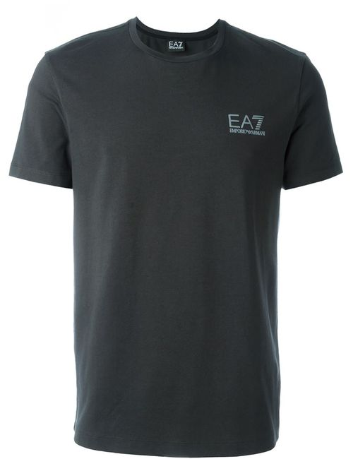 EA7 EMPORIO ARMANI | Мужское Серый Side Logo T-Shirt