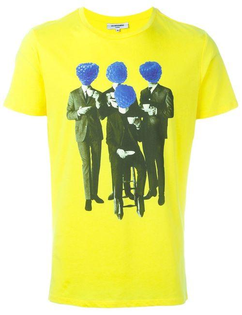 Les Benjamins | Мужская Жёлтая Футболка Bluefour