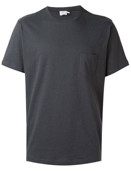 Sunspel | Мужское Серый Chest Pocket T-Shirt