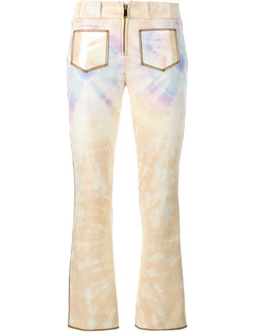 Paco Rabanne | Женское Желтый Cropped Tie-Die Trousers