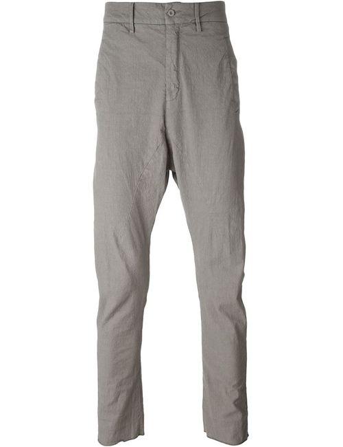 Poème Bohèmien | Мужское Серый Drop Crotch Trousers