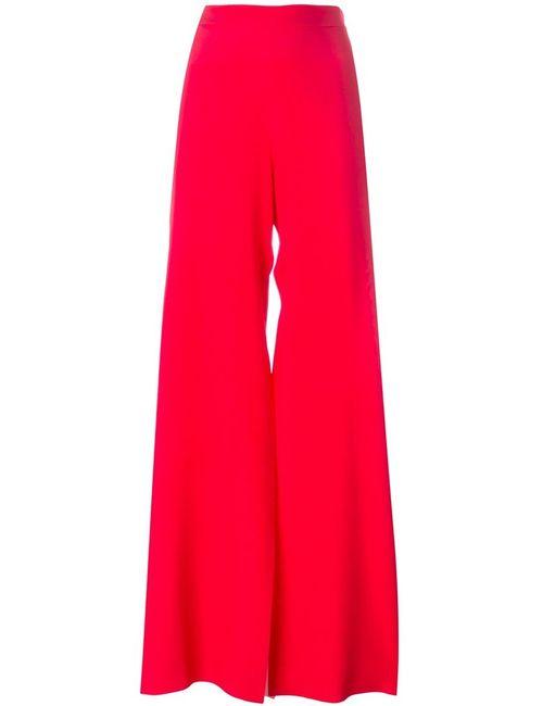 MSGM | Женское Красный High-Waisted Palazzo Trousers