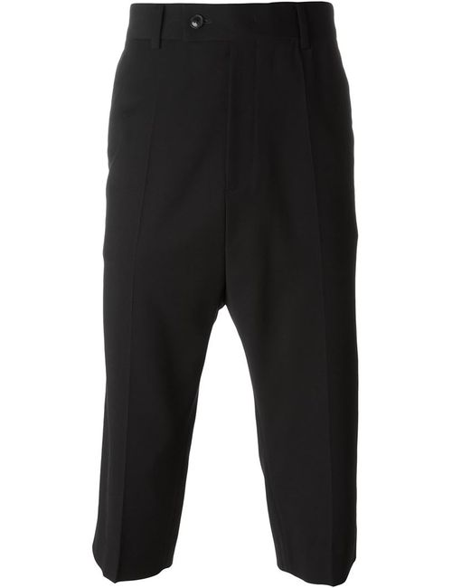 SYSTEM HOMME | Мужское Чёрный Tailored Cropped Trousers