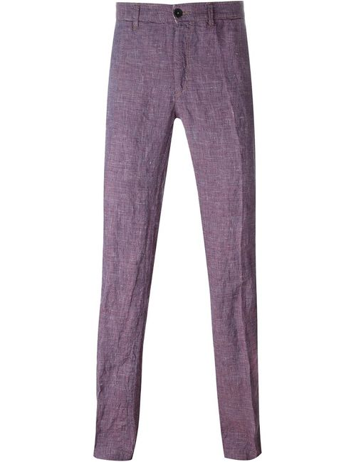 Massimo Alba | Мужское Красный Straight Leg Trousers