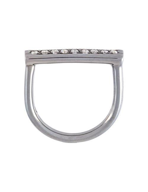 ROBERTO MARRONI | Женское Серебристый Solid Bar Ring