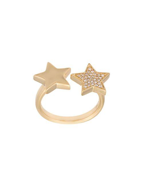 Alinka | Женское Серебристый Stasia Double Star Diamond Ring