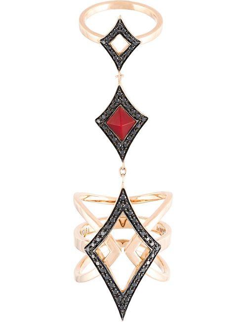 Anapsara | Женское Серебристый Connecting Ring
