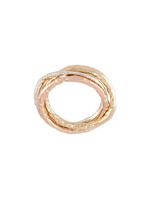 ALICE WAESE | Женское Серебристый Linked Skinny Rings