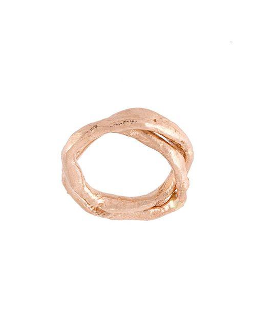 ALICE WAESE   Женское Серебристый Linked Duo Ring