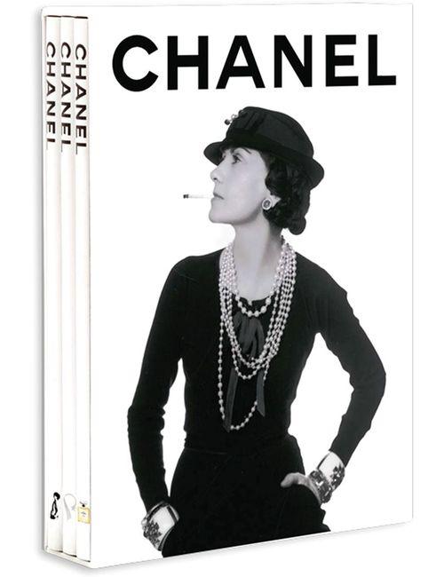 Assouline | Белый Набор Из Трех Книг Chanel