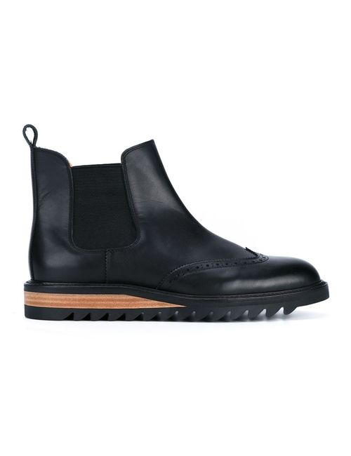 HENDER SCHEME | Мужские Чёрные Ботинки Челси Brique