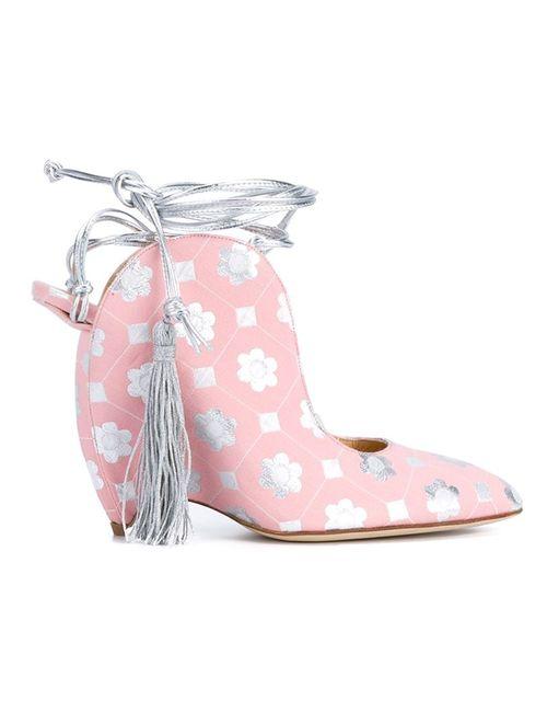 LIUDMILA | Женские Многоцветные Туфли На Танкетке