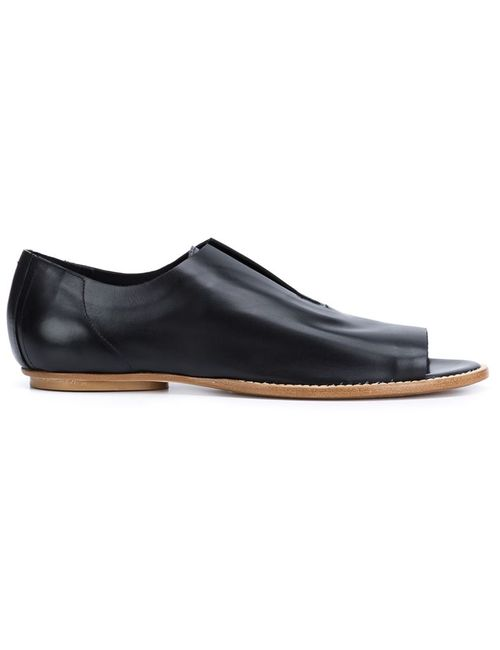 Zero + Maria Cornejo   Женское Чёрный Flo Open Toe Slippers