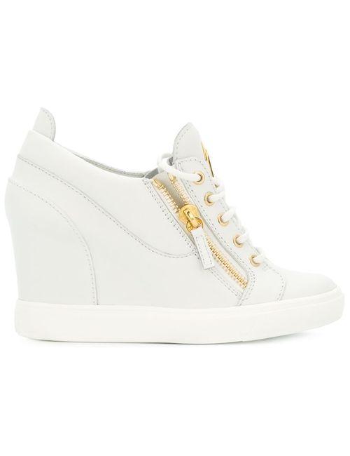 Giuseppe Zanotti Design | Женское Белый Sonya Wedge Sneakers