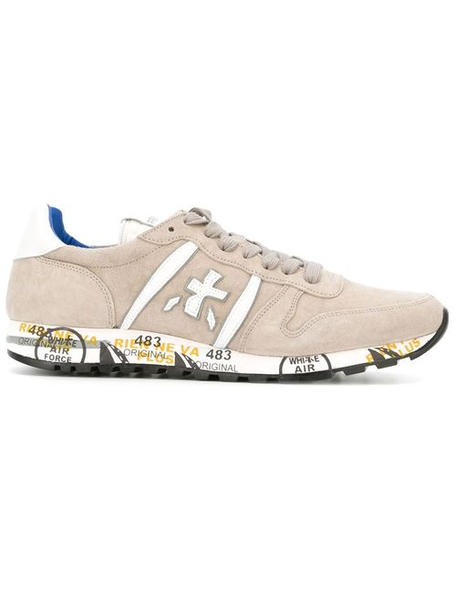 Premiata | Мужское Nude & Neutrals Lace Up Trainers