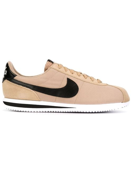 Nike | Мужское Nude & Neutrals Cortez Basic Premium Qs Sneakers