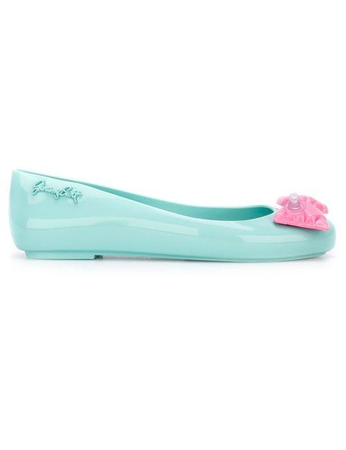 MELISSA + JEREMY SCOTT | Женское Синий Inflatable Bow Detail Ballerina Shoes