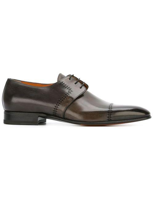 Santoni | Мужское Серый Derby Shoes