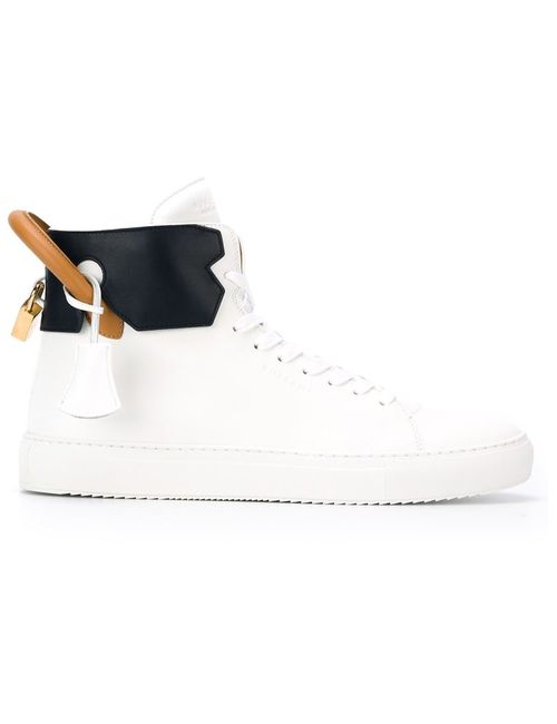 Buscemi | Мужское Белый Tricolour Padlock Sneakers