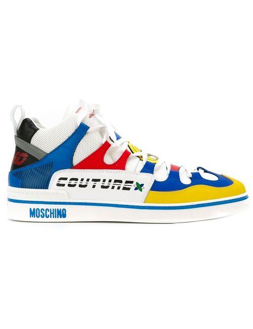 Moschino   Мужские Многоцветные Хайтопы Toy