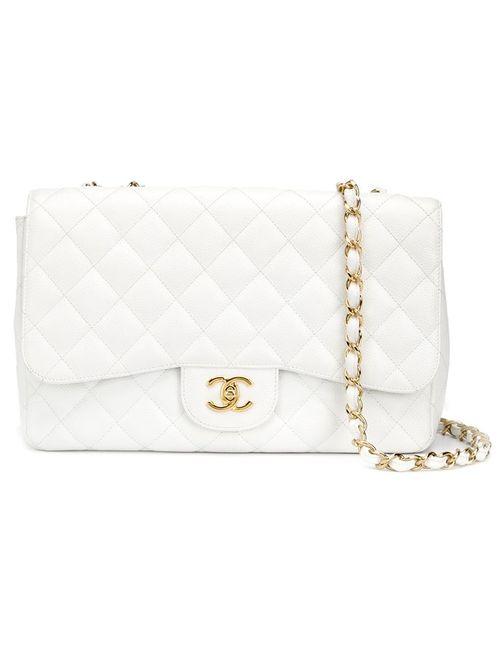 Chanel Vintage | Женское Белый Jumbo 2.55 Shoulder Bag