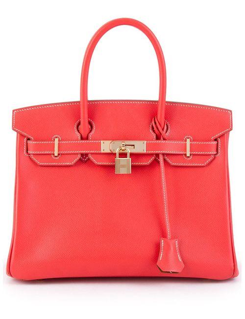 Hermès Vintage | Женская Красная Сумка-Тоут Birkin 30